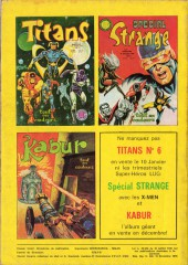 Verso de Titans -5- Titans 5