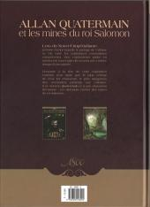 Verso de Allan Quatermain et les mines du Roi Salomon -2- En territoire hostile
