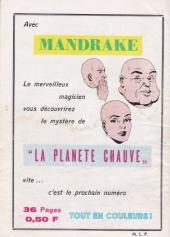 Verso de Mandrake (1e Série - Remparts) (Mondes Mystérieux - 1) -82- Karum, le magicien