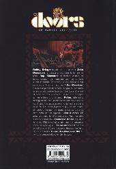 Verso de Doors en Bandes Dessinées (The) - The Doors en Bandes Dessinées