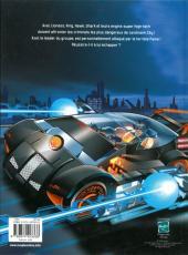 Verso de Action Man Atom -1- Jeux Mortels