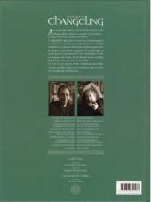 Verso de La légende du Changeling -5- La nuit Asraï