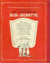 Verso de Bob et Bobette -8'- Les Pêcheurs d'étoiles