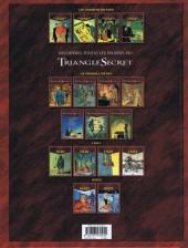 Verso de Le triangle secret - Les Gardiens du Sang -4- Ordo Ab Chao