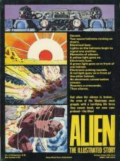 Verso de Alien: The illustrated story (1979) -GN- Alien: The illustrated story