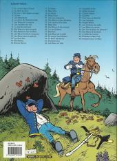Verso de Les tuniques Bleues -27c- Bull run