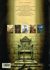 Verso de Le trône d'argile -5- La pucelle