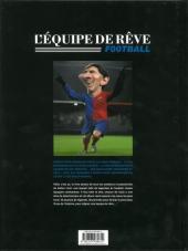 Verso de L'Équipe de rêve - Légendes -2- Football