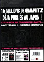 Verso de Gantz/Osaka -3- Tome 3