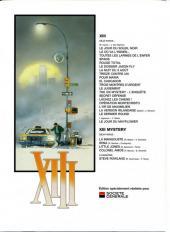 Verso de XIII -1SoGé- Le Jour du Soleil noir