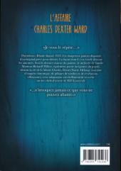 Verso de L'affaire Charles Dexter Ward - L'Affaire Charles Dexter Ward