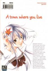 Verso de A town where you live -6- Tome 6