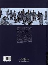Verso de Sur les bords du monde  -1- L'odyssée de Sir Ernest Shackleton