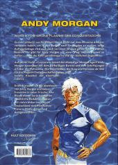 Verso de Andy Morgan -8- Die grüne flamme des conquistadors