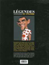 Verso de L'Équipe de rêve - Légendes -3- Légendes du cyclisme