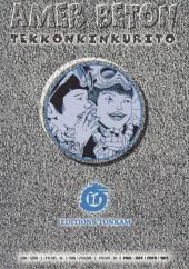 Verso de Amer béton -2- Volume 2