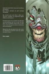 Verso de Aliens, Darkness, Witchblade, Predator
