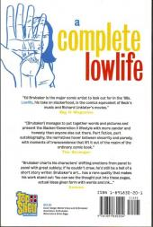 Verso de A Complete Lowlife (1991) -INT- A Complete Lowlife