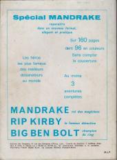 Verso de Mandrake (1e Série - Remparts) (Mondes Mystérieux - 1) -REC50- Album n° 50