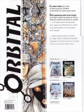 Verso de Orbital -2b11- Ruptures