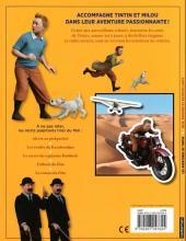 Verso de Tintin - Divers -AJ- Tintin - jeux, énigmes et autocollants