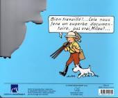 Verso de Tintin - Divers -AN1- Les girafes