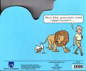 Verso de Tintin - Divers -AN5- Le lion