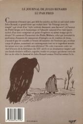 Verso de Le journal de Jules Renard - Le Journal de Jules Renard lu par Fred