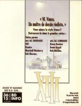 Verso de XIII -1PF- Le jour du soleil noir (mini bd)