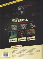 Verso de Agence Interpol -2- Stockholm - Le Maître de l'Ordre
