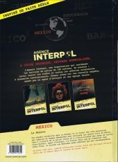 Verso de Agence Interpol -1- Mexico - La muerte