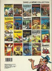 Verso de Sammy -6b86- Les gorilles font les fous