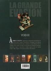 Verso de La grande évasion -3- Void 01