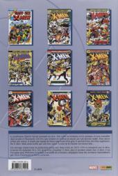 Verso de X-Men (L'intégrale) -1INT- X-Men : L'intégrale 1975-1976