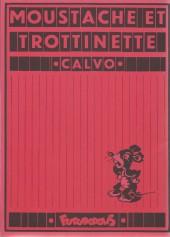 Verso de Moustache et Trottinette (Futuropolis) -3- Au Far-West