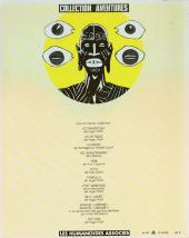 Verso de African Night Flight - Une aventure de Kriss Delux - African Night Flight
