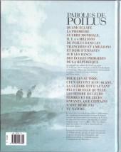 Verso de Paroles de Poilus -2- 1914-1918, mon papa en guerre