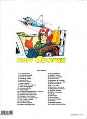 Verso de Dan Cooper (Les aventures de) -40- Alerte sur le