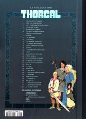 Verso de Thorgal - La collection (Hachette) -6- La chute de Brek Zarith