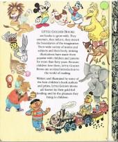 Verso de A little golden book - Mickey and the beanstalk