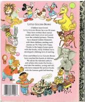 Verso de A little golden book -10075- Mickey mouse the kitten-sitters