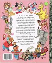 Verso de A little golden book -10072- Detective mickey mouse
