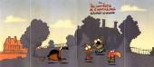 Verso de Nouveaux Mini-récits Spirou -3686- Les chevaliers de l'apocadispe explorent le manoir.