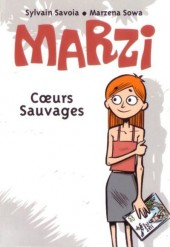 Verso de Nouveaux Mini-récits Spirou -3675- Marzi : cœurs sauvages