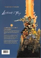 Verso de Lanfeust de Troy -7- Les pétaures se cachent pour mourir