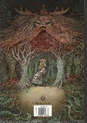 Verso de Dans la forêt