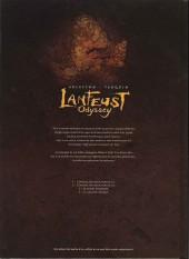 Verso de Lanfeust Odyssey -3COF- Le banni d'eckmül