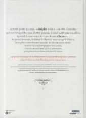 Verso de Adolphe