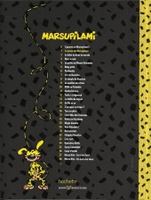 Verso de Marsupilami - La collection (Hachette) -1- La queue du marsupilami