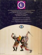 Verso de Histoire de France en bandes dessinées -INT1- De vercingétorix aux vikings